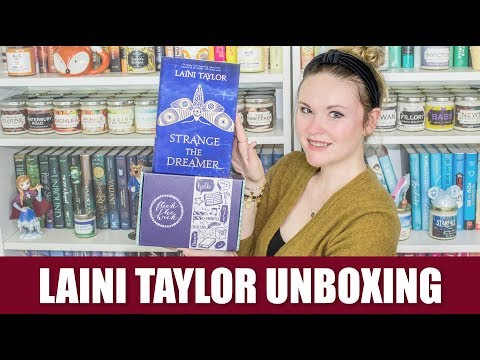 Laini Taylor Unboxing - Flick the Wick |  November Unboxing