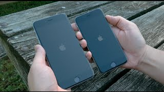 Apple iPhone 6 vs 6 Plus Dual Unboxing and Comparison (128GB and 64GB)