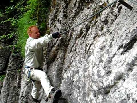 Klettersteig Oostenrijk : Oostenrijk klettersteig pirknerklam youtube