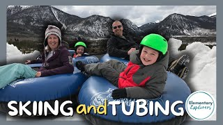 First Time Skiing and Snow Tubing at Frisco Adventure Park Video