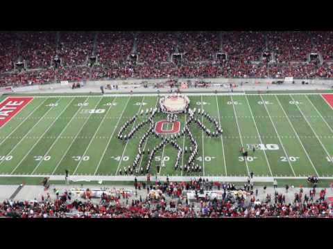 OSUMB Halftime Show in HD: Superheroes Tribute- Ohio State vs. Nebraska (11/5/16)