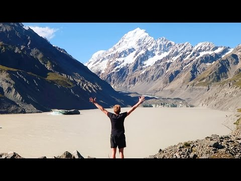 HOOKER VALLEY TRACK -  Aoraki Mount Cook - New Zealand