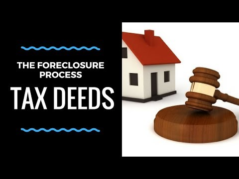 Tax Deed Investing: Quiet Title and the Foreclosure Process!
