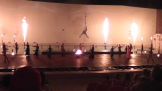 """Шоу """"Аргонавты"""": танец с огнём!"""