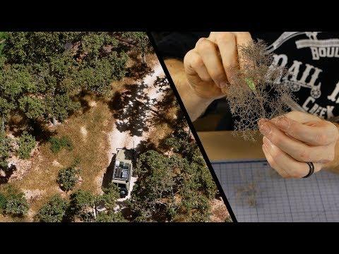 Make Realistic Gum Trees using Seafoam - Fast & Easy - YouTube
