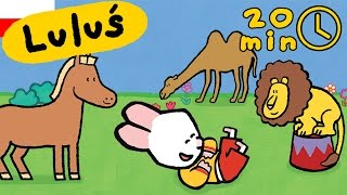 Luluś - Narysuj mi zwierzęta cyrkowe | Kompilacja HD // Kreskówki dla dzieci