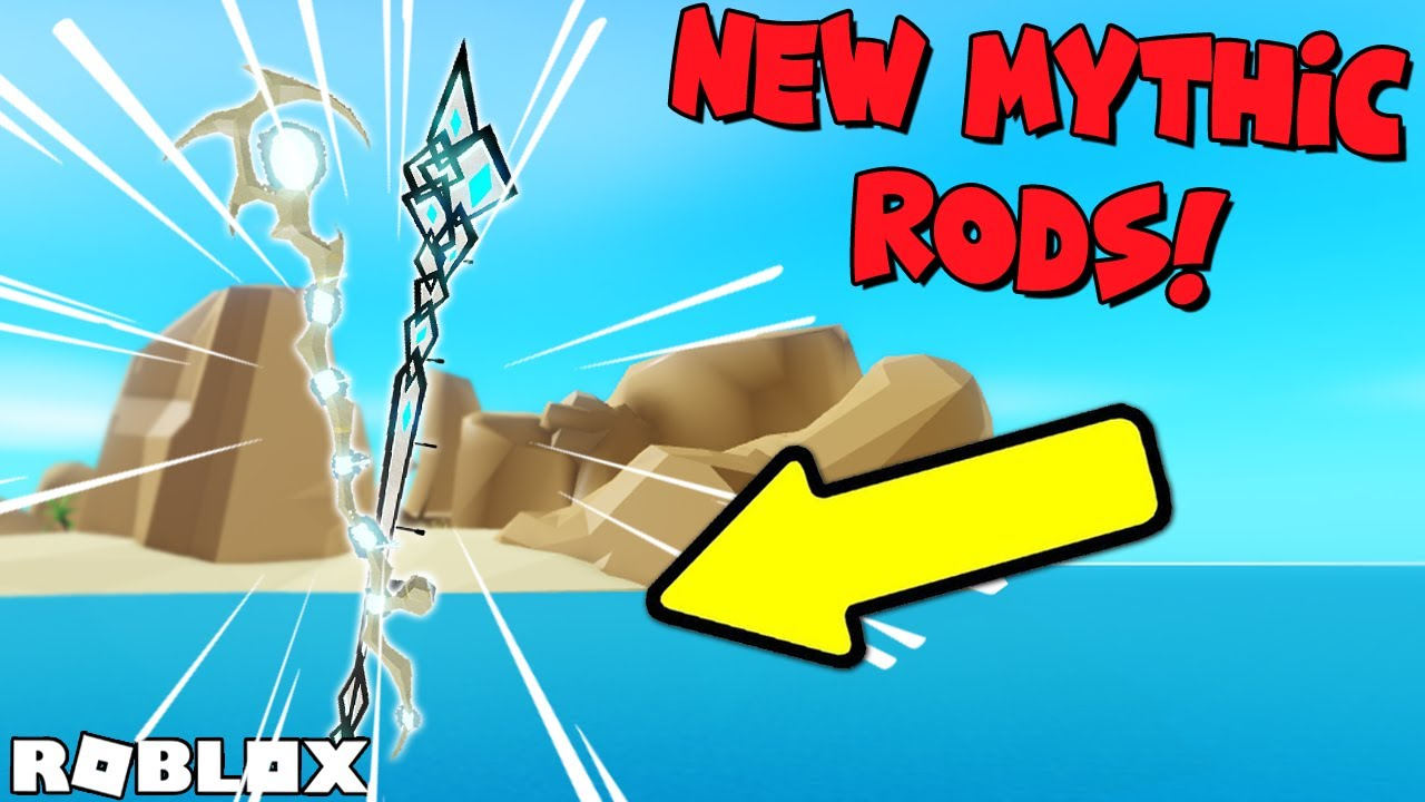 How To Get The Best New Mythic Rods In Fishing Simulator