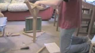 Ben Builds A Bird Table