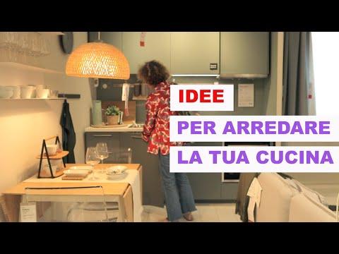 ARREDARE una CUCINA piccola da Ikea | Consigli minimali e  vintage |