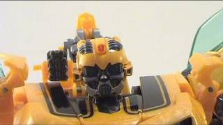 Video Review of Transformers Revenge of the Fallen; Human Alliance Bumblebee