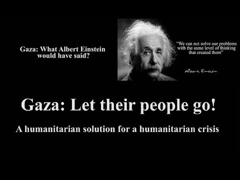 Gaza Let their people go