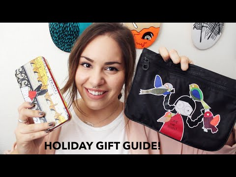 Holiday Gift Guide 2014! ❄ For Artists + Creatives! | Studio Skate By Paige Poppe