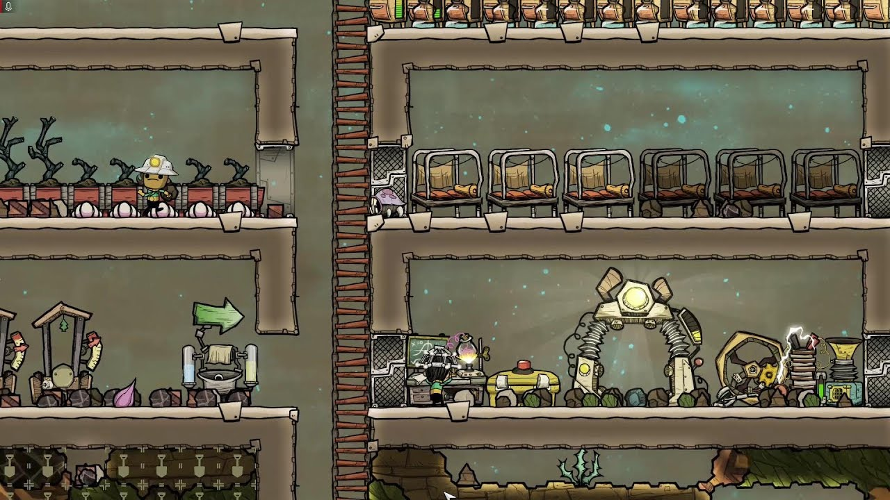Oxygen Not Included Launch Upgrade Ep.1- Literally The Best Spawn Possible