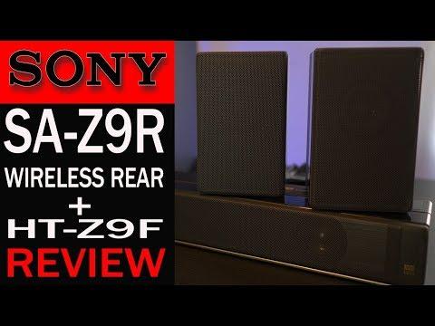Sony HT-Z9F + SA-Z9R Wireless Rear Speakers Atmos Soundbar Review