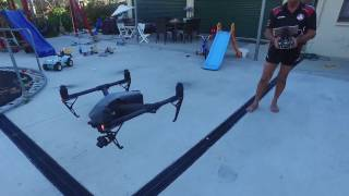 DJI INSPIRE 2 MAIDEN FLIGHT AUSTRALIA