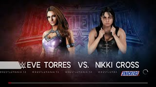 WWE 2K18 - Eve Torres VS Nikki Cross