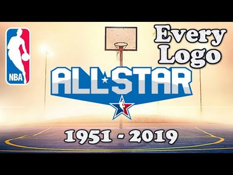 NBA Every All-Star Logo 1951-2019
