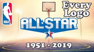 NBA Every All-Star Logo 1951-2019