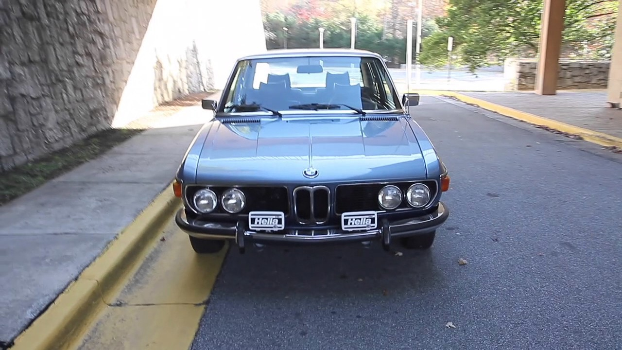 Coupe Series 1970 bmw coupe 1976 BMW E3 3.0Si Bavaria for sale - YouTube