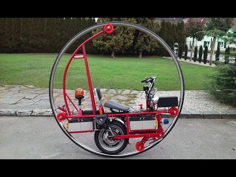 Monowheel  Monocycle  Einrad