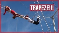We Try Trapezing! Trapeze School of New York