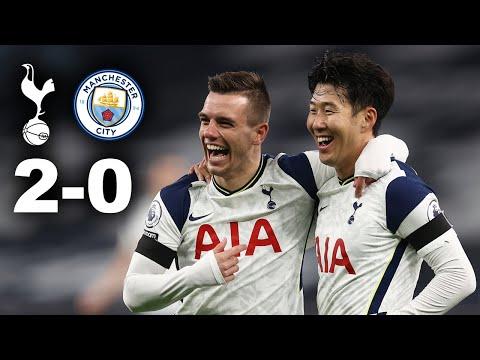 TOTTENHAM 2-0 MANCHESTER CITY   Mourinho Masterclass Reaction 🤩