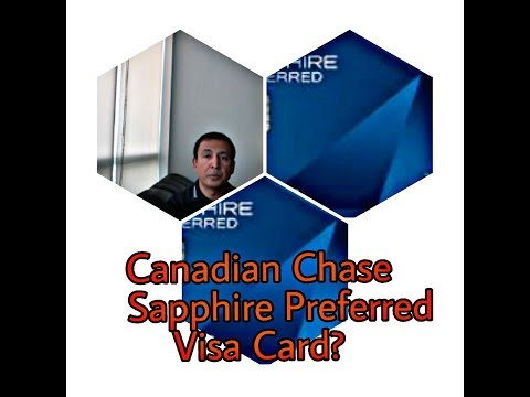 Will Chase Sapphire Preferred Credit Card Come To Canada + Alternative Credit Cards By Ahmed Dawn