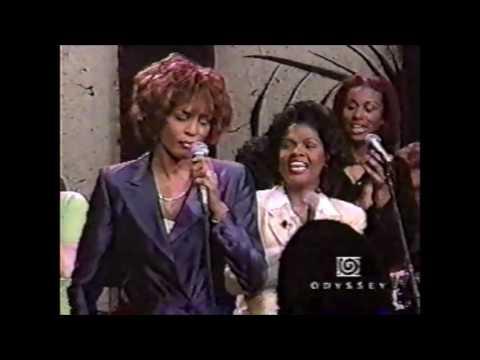 Whitney Houston Karen Clark & CeCe Winans Live/I Go To The Rock