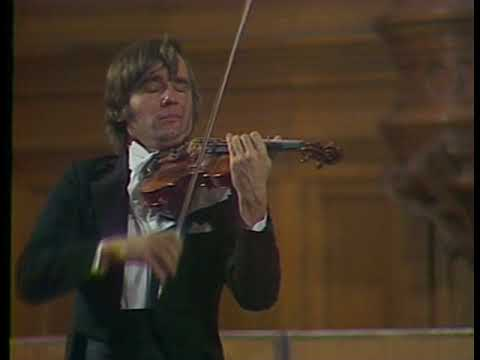 Viktor Tretyakov - Ysaye, Kreisler, Marcello, Paganini, Wagner, Brahms, Tchaikovsky - video 1978