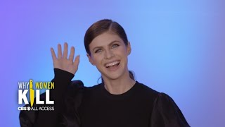 Why Women Kill Star Alexandra Daddario Relives Some Of The Series39 Most Titillating Scenes