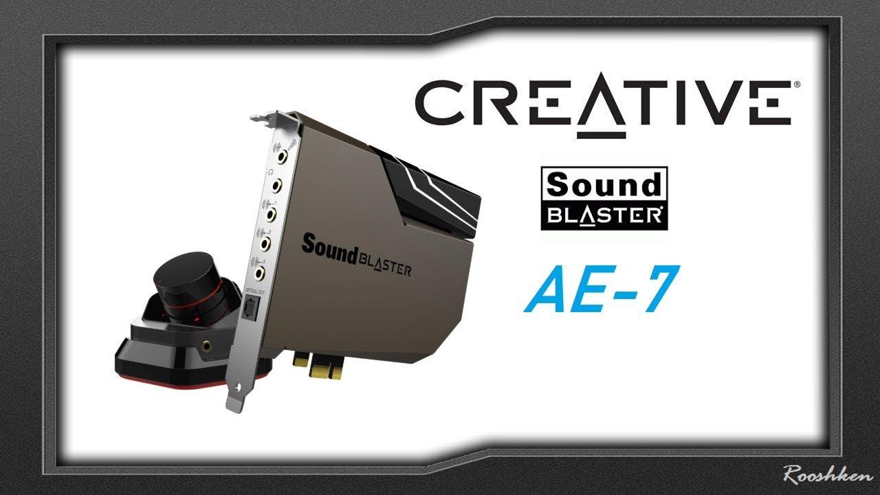 Sound Blaster X-Fi Titanium HD Sound Card Backplate