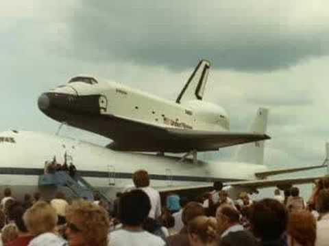 Enterprise OV-101 - Stansted Airport, 5th June 1983,