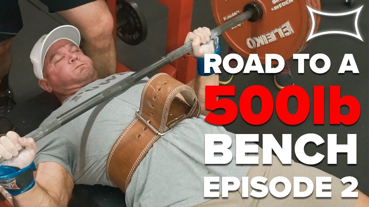 Last Heavy Bench Workout Before The Competition Mark Bell S Road To A 500lb Bench Episode 2