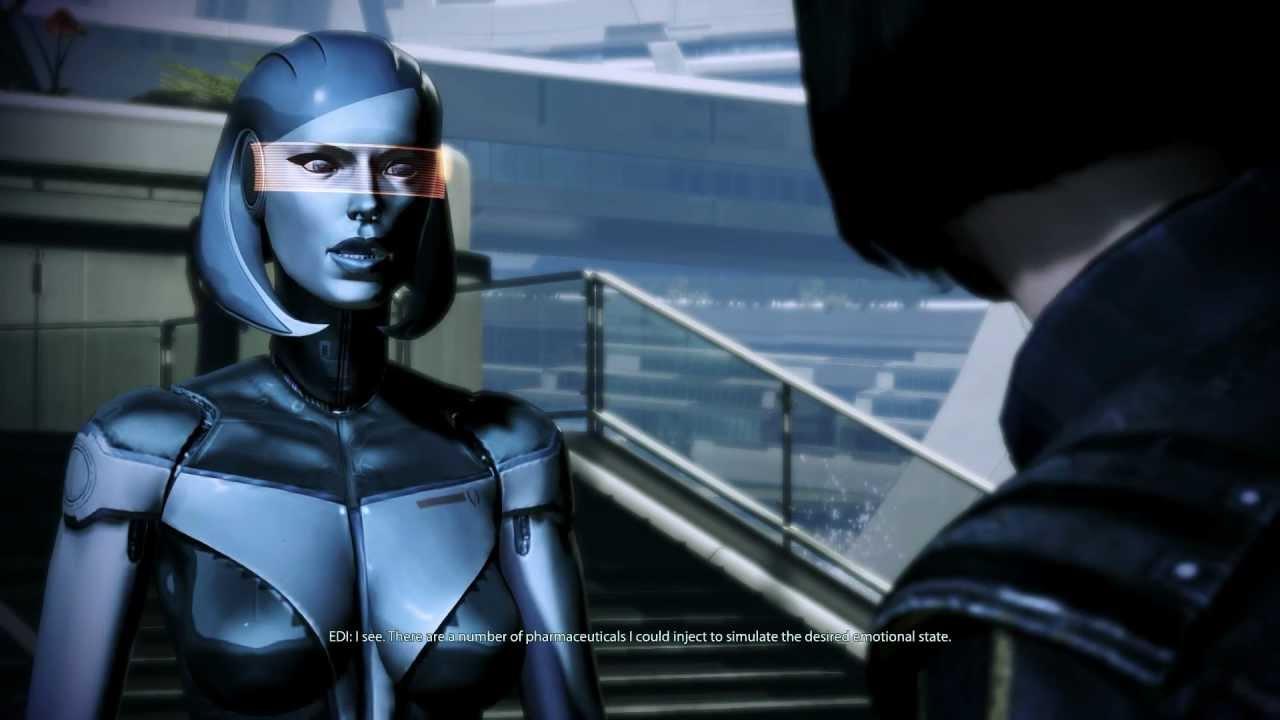 Mass Effect 3: Joker & EDI romance