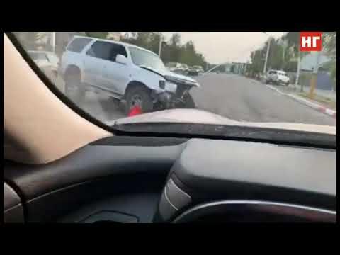 Тойота и ЗАЗ Шанс столкнулись в Костанае