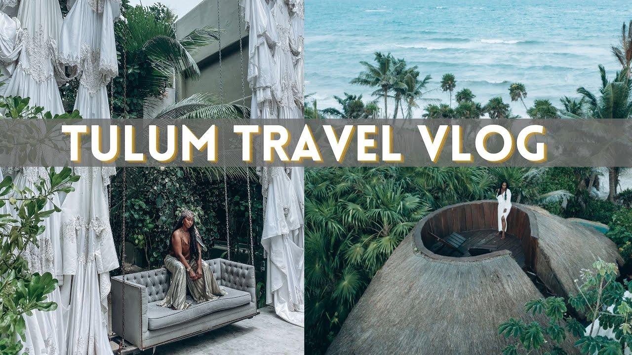 TULUM TRAVEL VLOG! Where I stayed, What I ate and What I wore   WEDDING ANNIVERSARY TRIP  THE YUSUFS