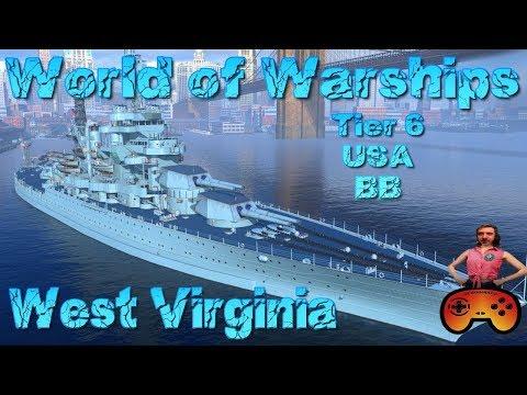"""""""West Virginia"""" angespielt"""