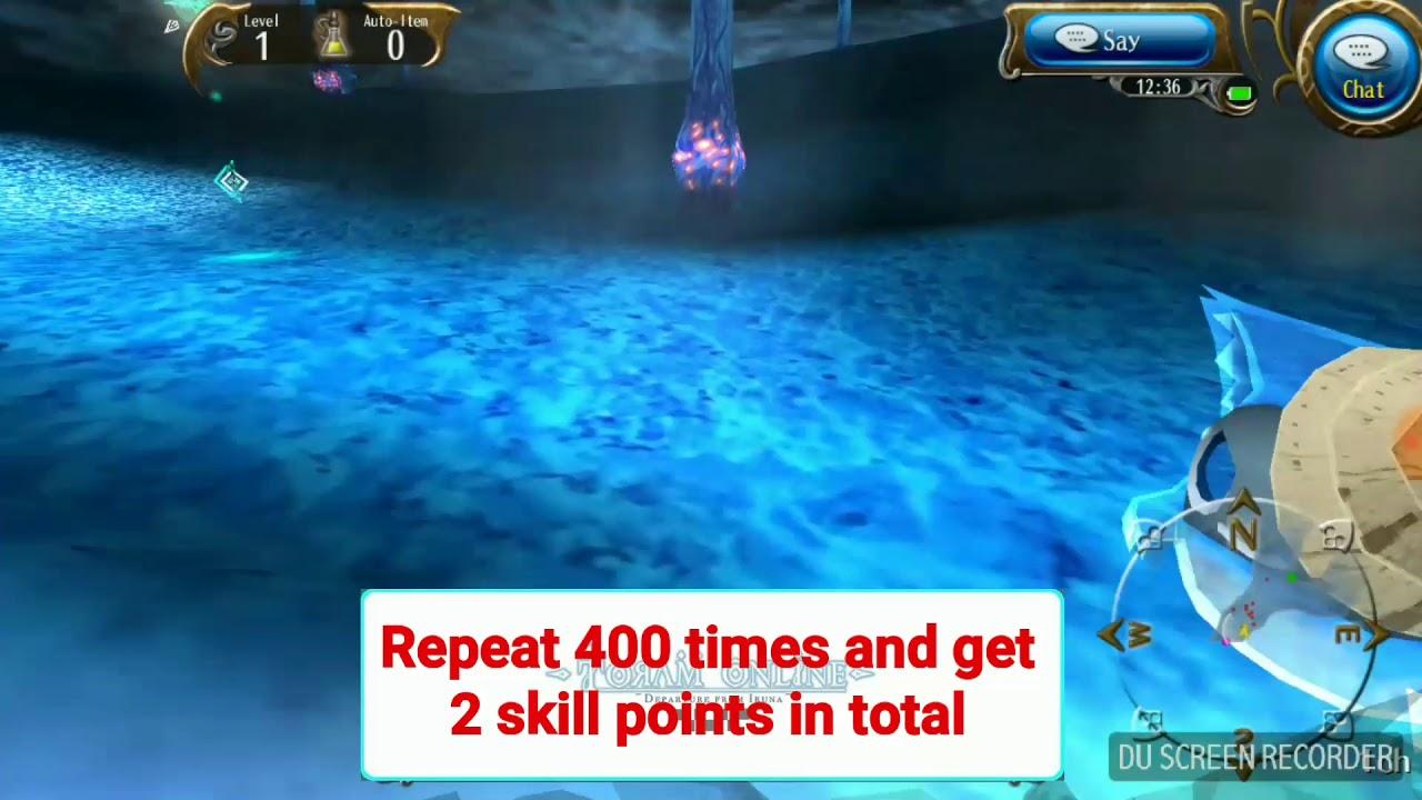 Toram online total skill points