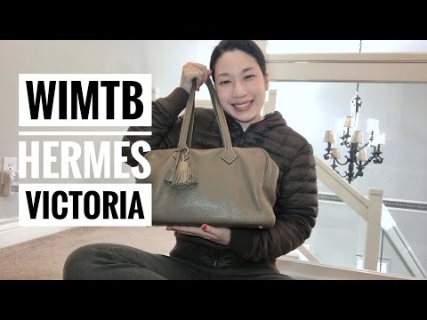WHAT'S IN MY TRAVEL BAG | HERMES VICTORIA