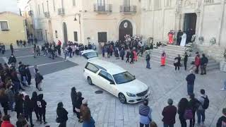 I funerali di Sara Favia in cattedrale