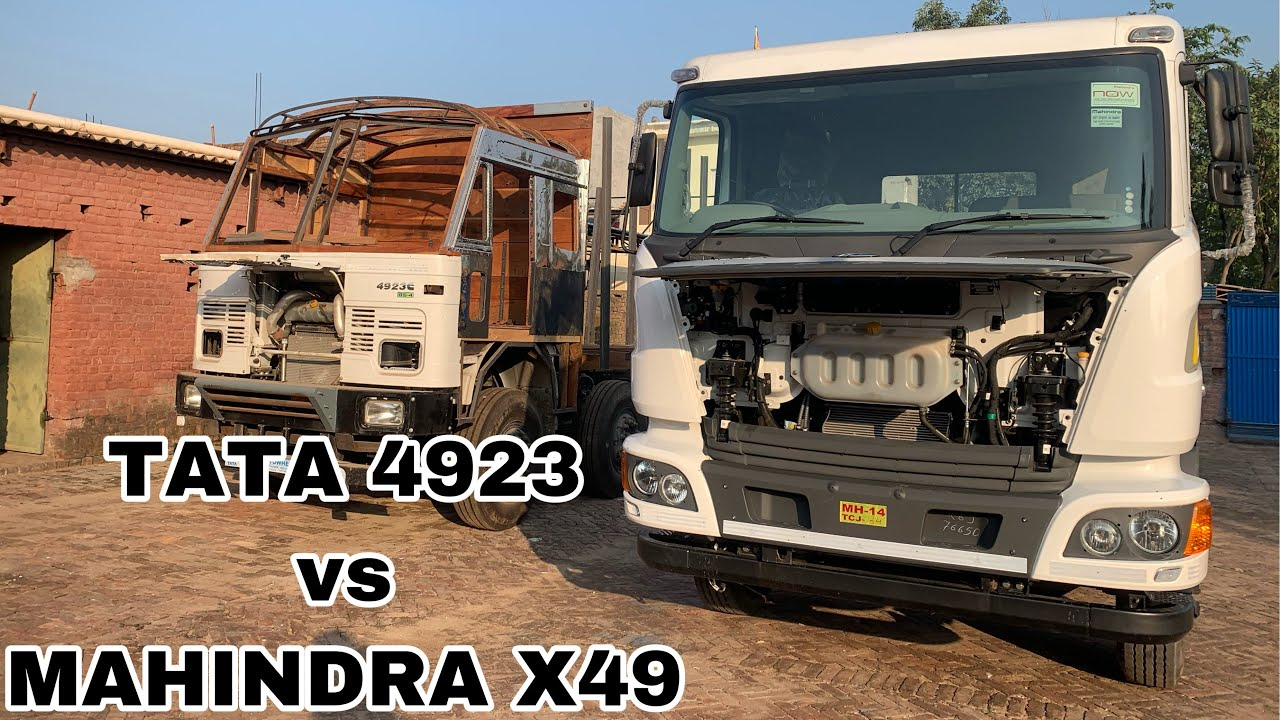 Download TATA 4923 VS BLAZO X49, mahindra vs tata