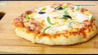 Easy Homemade Pizza | Dominos Cheese Burst Pizza Part 2 (the base) | Part 2