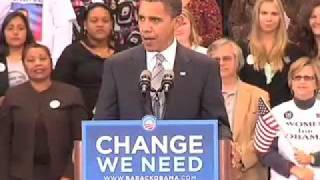 Barack Obama on Colin Powell's Endorsement
