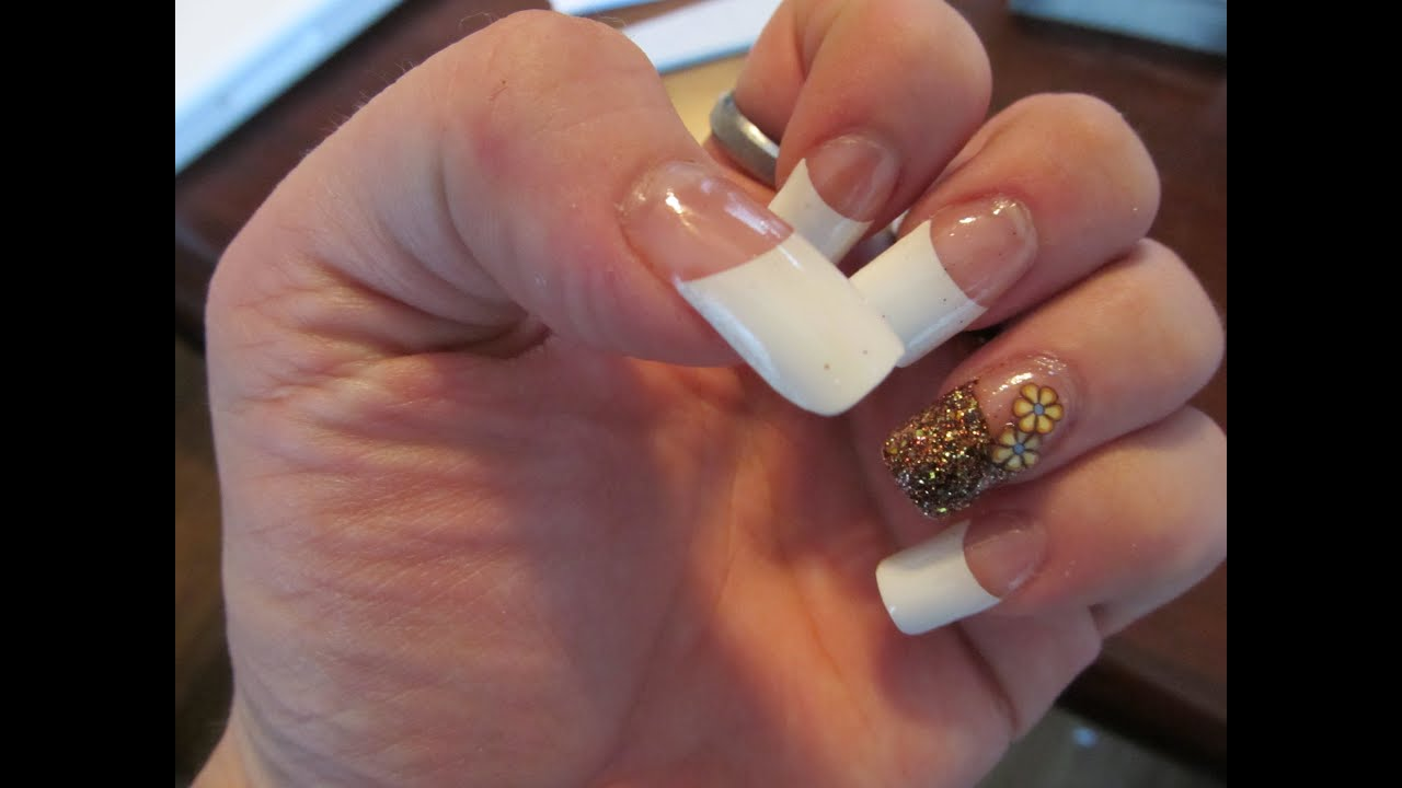 Easiest fall nail design ever youtube easiest fall nail design ever prinsesfo Image collections