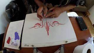#Pinstriping Scroll Design 3