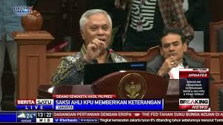 Sidang Sengketa Pilpres 2019: Saksi Ahli KPU Paparkan Situng