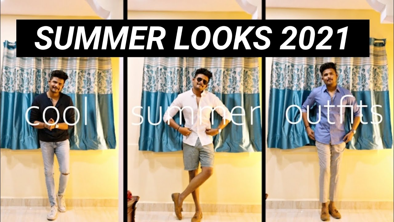7 Cool Outfits For Summer 2021 | Mens Fashion In Telugu | The Fashion Verge
