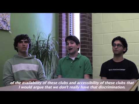 Students on Discrimination Clip 7
