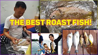 Ep. 28 - Secret Recipe Revealed for our Roast Fish!!!