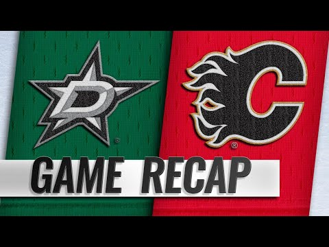 Seguin nets OT winner to lead Stars past Flames, 4-3